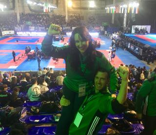 Midleton Martial Arts World Champion James Dwyer