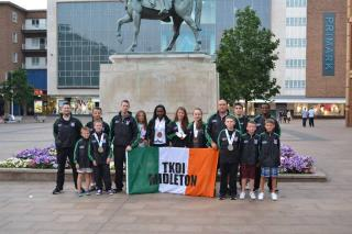 Midleton Squad representing Ireland